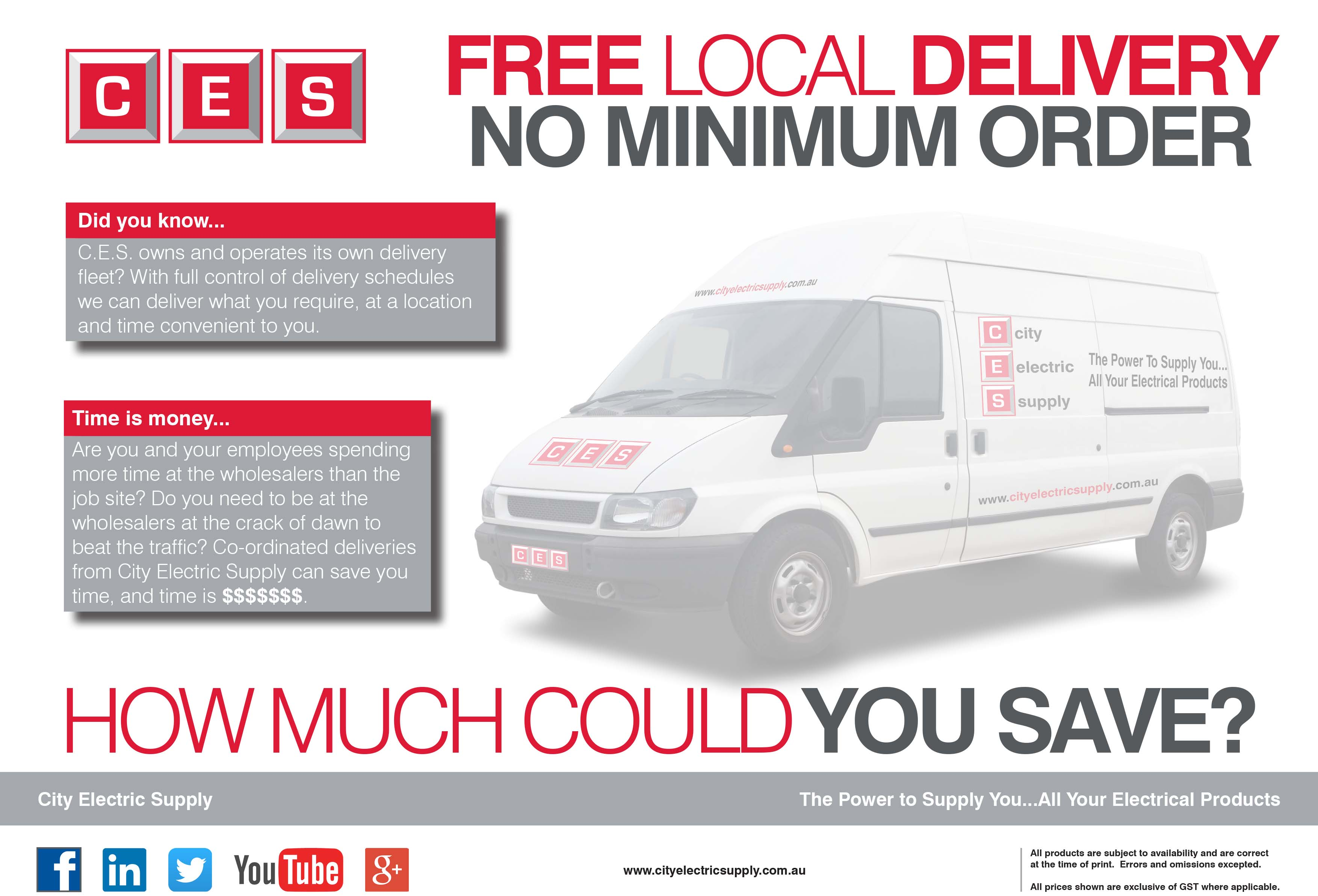 Free Delivery Flyer