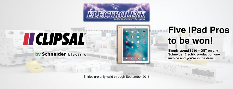 Banner - Clipsal iPad Pro Promo (Electrolink)