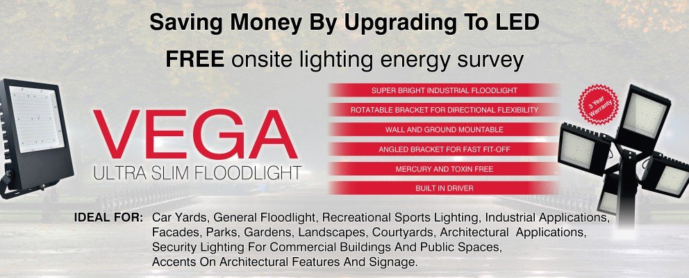 Vega Ultra Slim Floodlight
