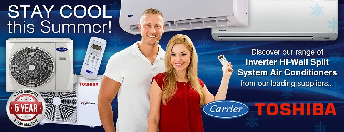 Carrier & Toshiba Air Conditioning