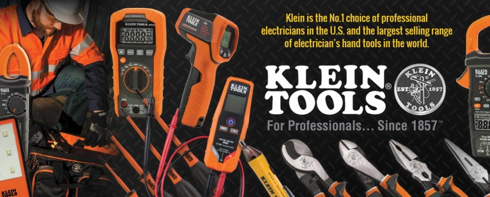 Klein Tools...The No.1 Choice
