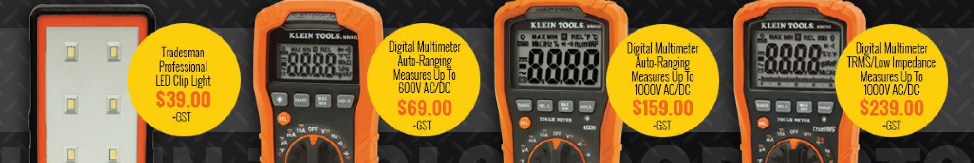 Klein Tools - Multimeters