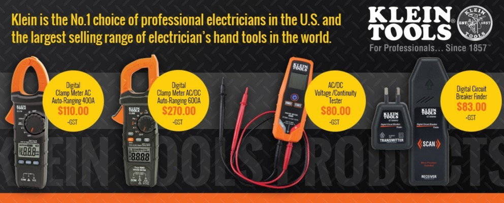 Klein Tools - Clamp Meters & Testers