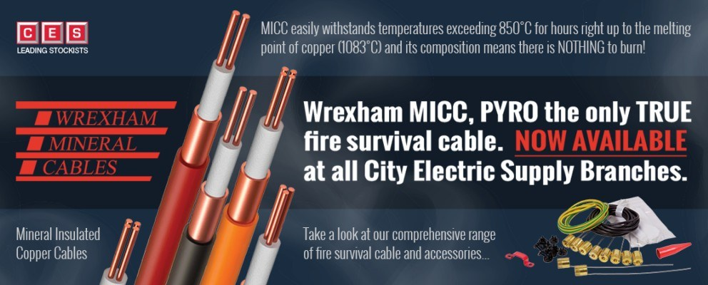 Wrexham Mineral Cables - Fire Survival Cables & Accessories Products