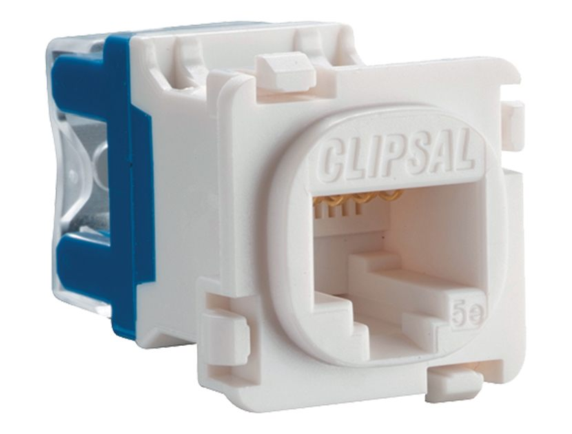 Clipsal 30RJ45SMA5-WE