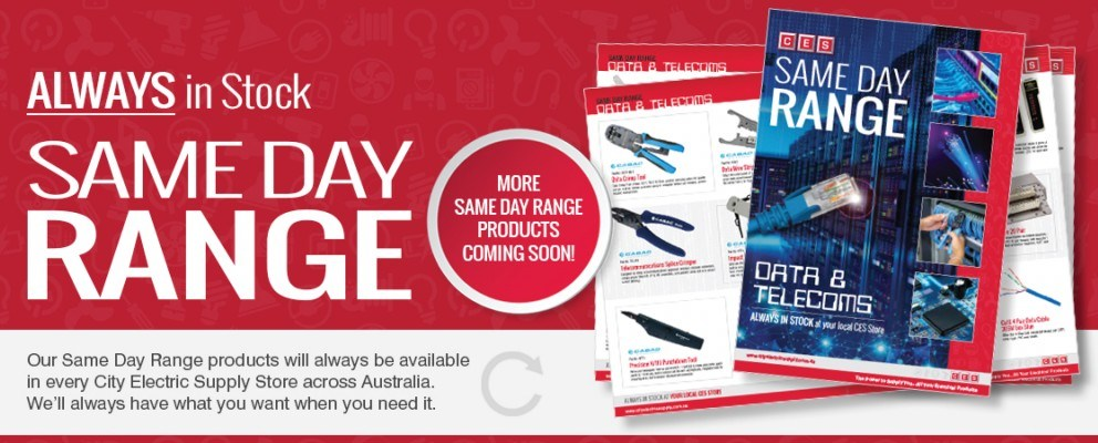 Same Day Range - Data & Telecoms