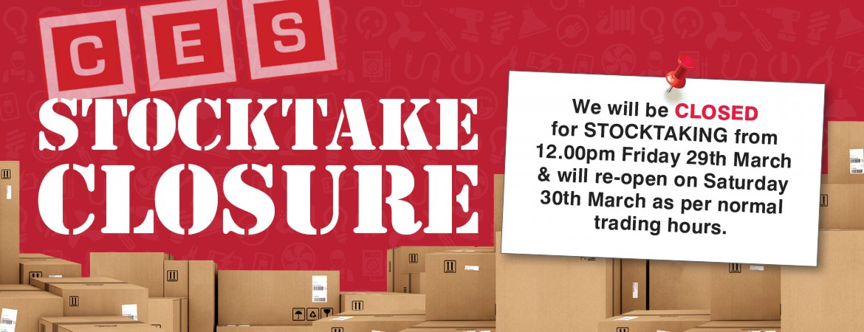 Stock Take Closure
