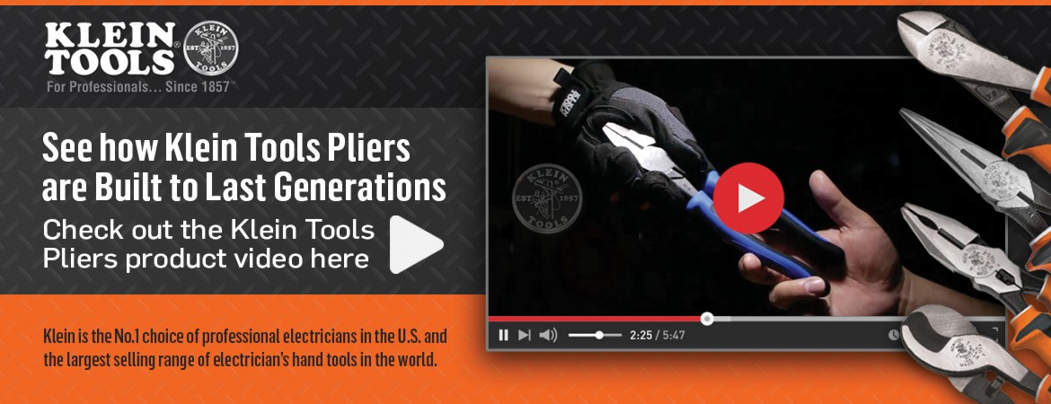 Klein Tools - Pliers Video