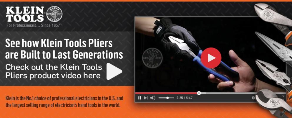Klein Tools - Pliers Video