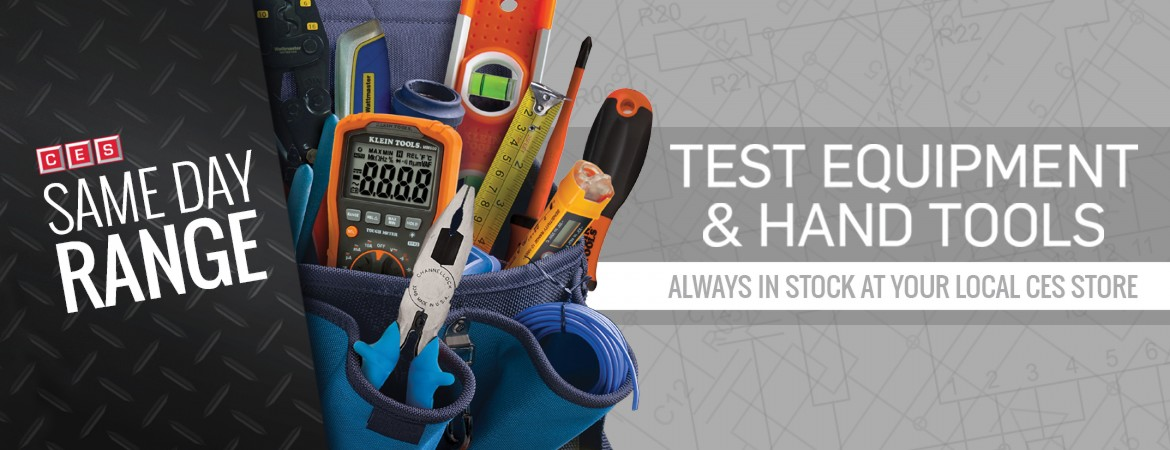 SDR - Test Equip & Hand Tools