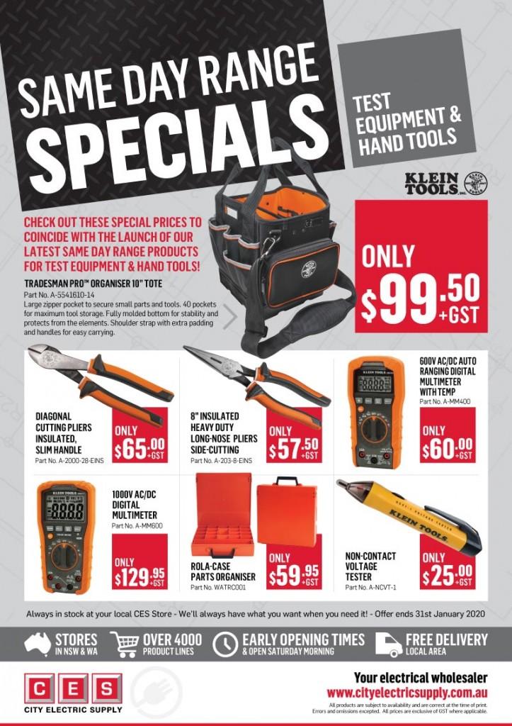SDR Test Equipment & Hand Tools Promo 2020