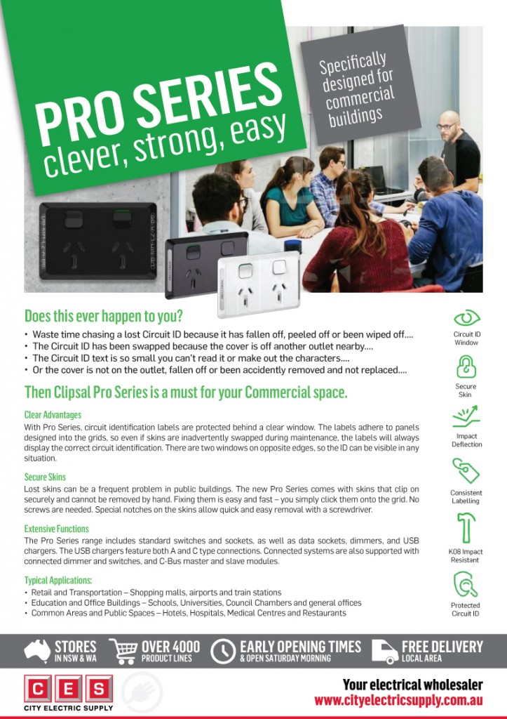 Clipsal Pro Series